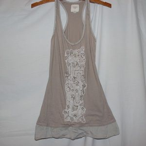 Abercrombie&Fitch NY XS Tank Top Beige